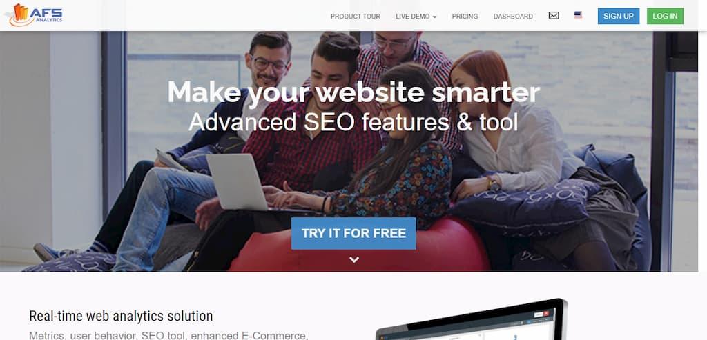AFS Analytics - Make your website smarter