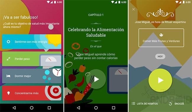 App Móvil Fabulous para Android