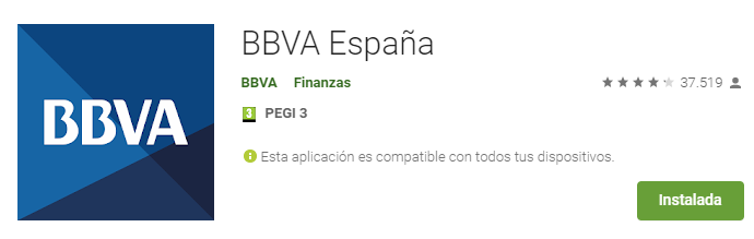 BBVA España - Aplicaciones en Go