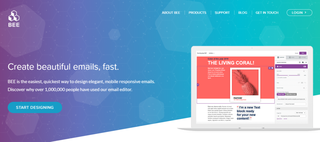 BEE Free I Free online email editor to build responsive
