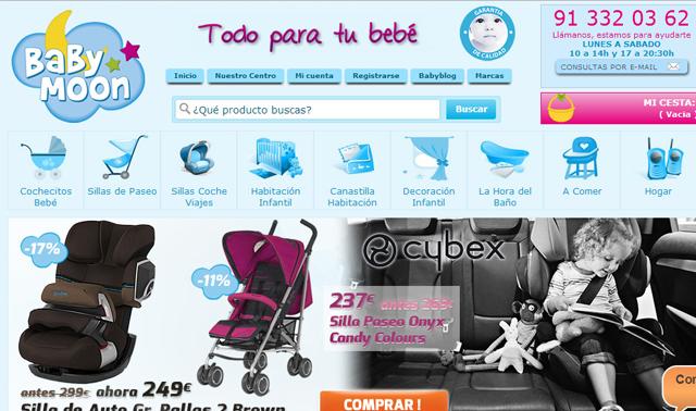 babymoon, ecommerce para bebés