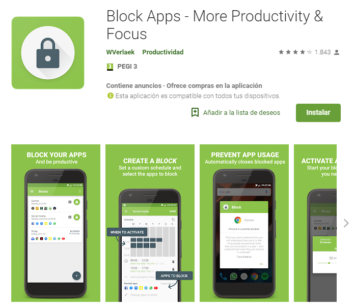 Block Apps - More Productivity
