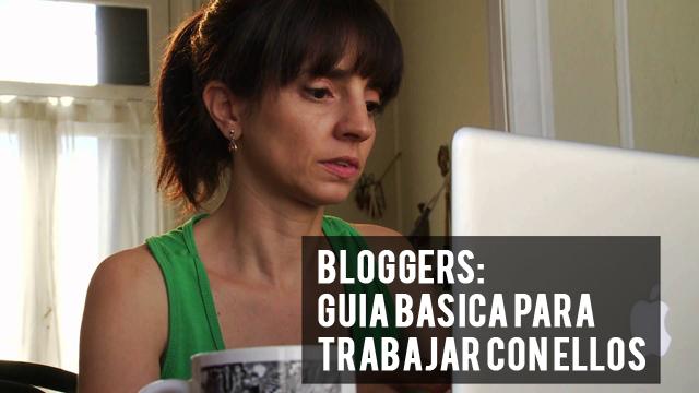 Bloggers_guía básica para trabajar con ellos