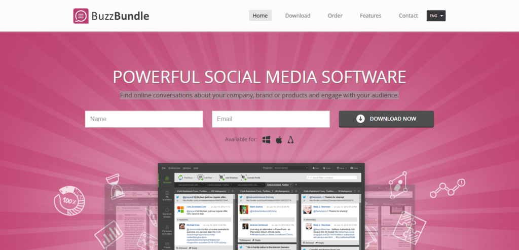 BuzzBundle Social Media Management Software