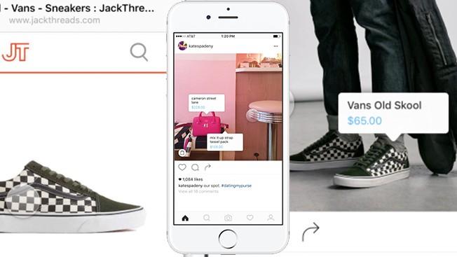 Comprar en Instagram Shopping Fuente de la imagen: Adweek