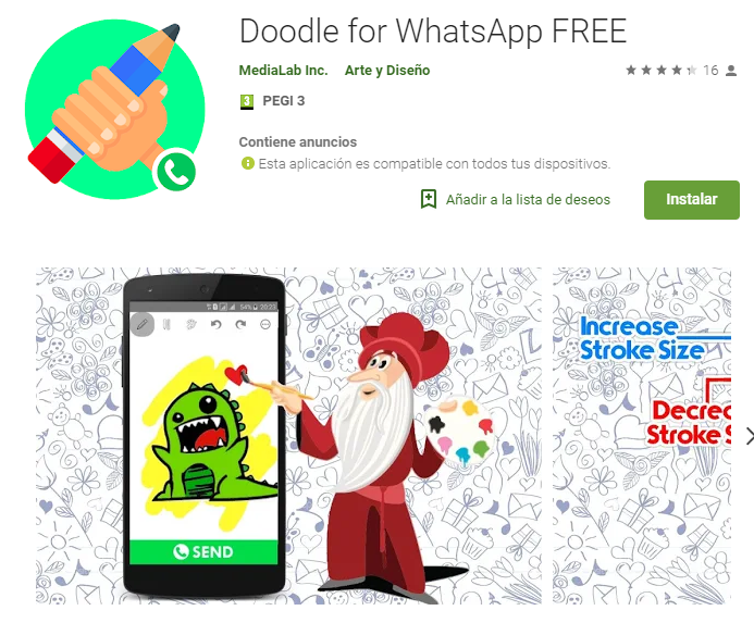 Doodle for WhatsApp FREE