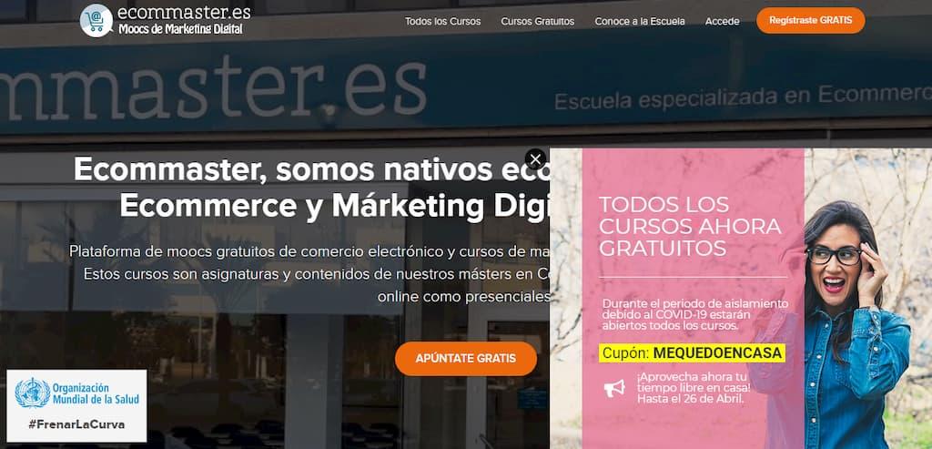 Ecommaster, Moocs de Marketing Digital y Comercio Electrónico