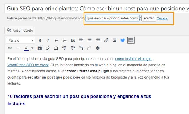 Guía SEO para principiantes: Cómo escribir un post que posicione, Guía SEO para principiantes (5ª parte): Cómo escribir un post que posicione y enganche a tus lectores