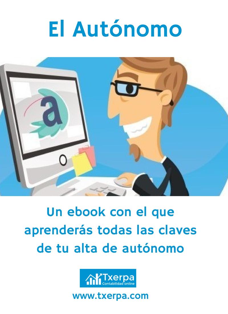 'El Autónomo', el primer ebook gratuito de Txerpa Gestoría Online