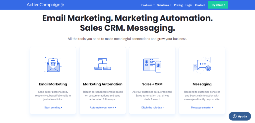 Active Campaign - Email Marketing - Marketing Automation