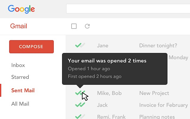 Email Tracking para Gmail - Mailtrack