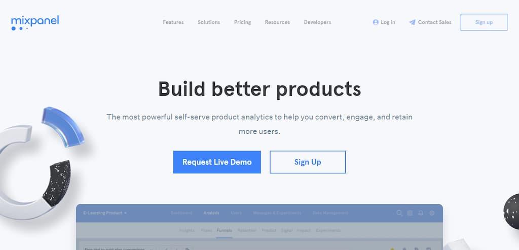 Mixpanel - Plugin de analítica Web