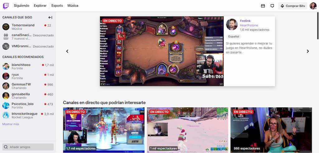 Twitch - www.twitch.tv