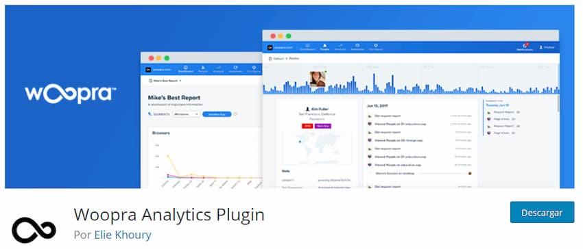 Woopra Analytics Plugin