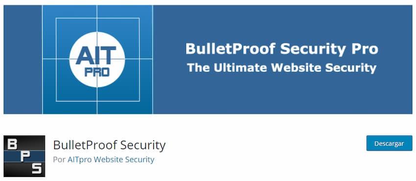 BulletProof Security plugin seguridad WordPress