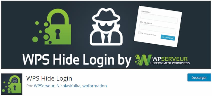 WPS Hide Login – Plugin