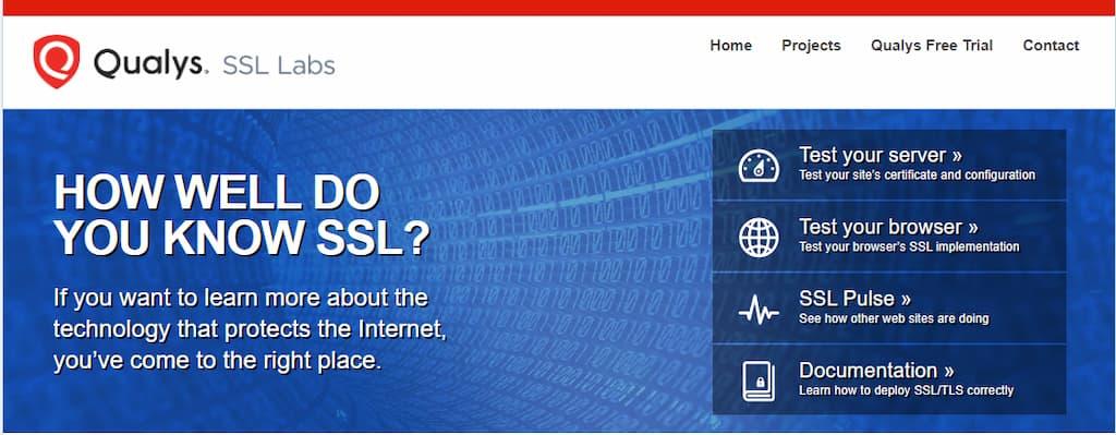 ssllabs para medir la calidad del certificado ssl de tu web