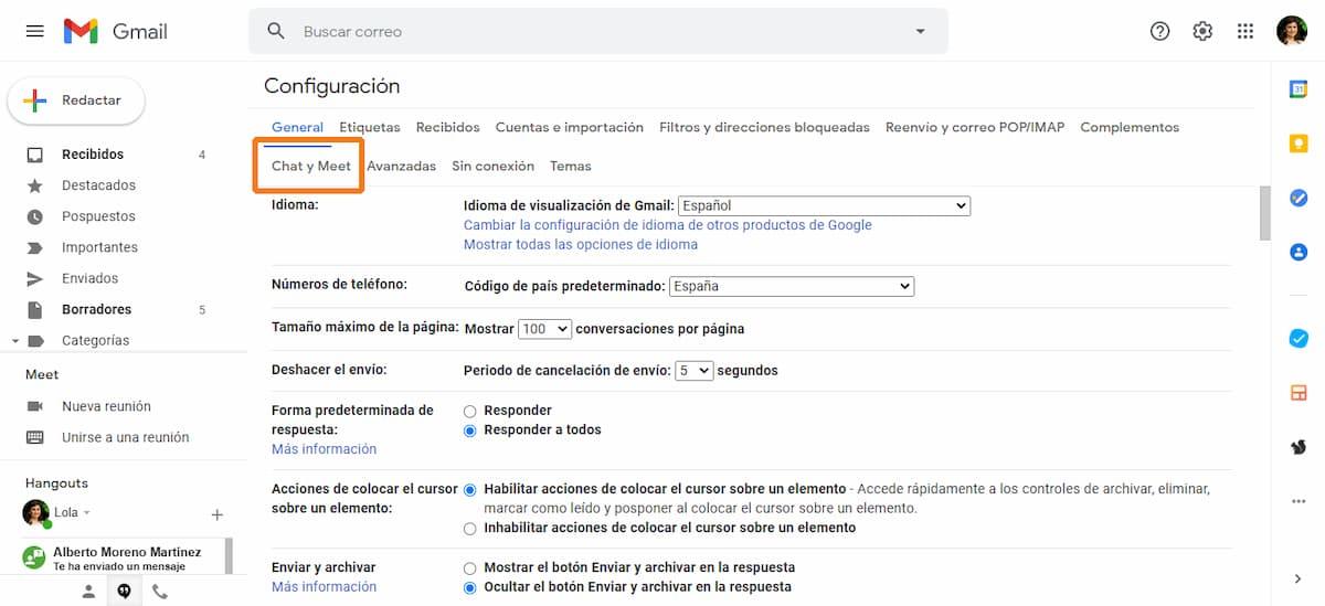activar google workspace