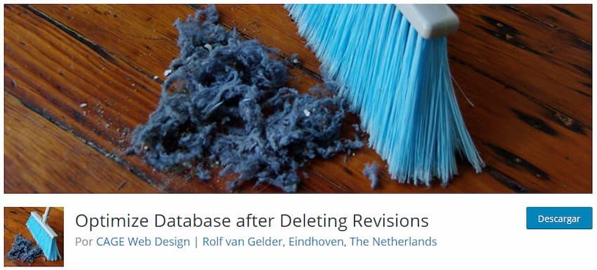 Optimize Database after Deleting Revisions