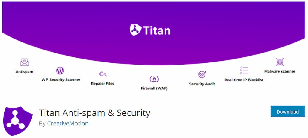 Titan Anti-spam & Security - Guía Mantenimiento WordPress