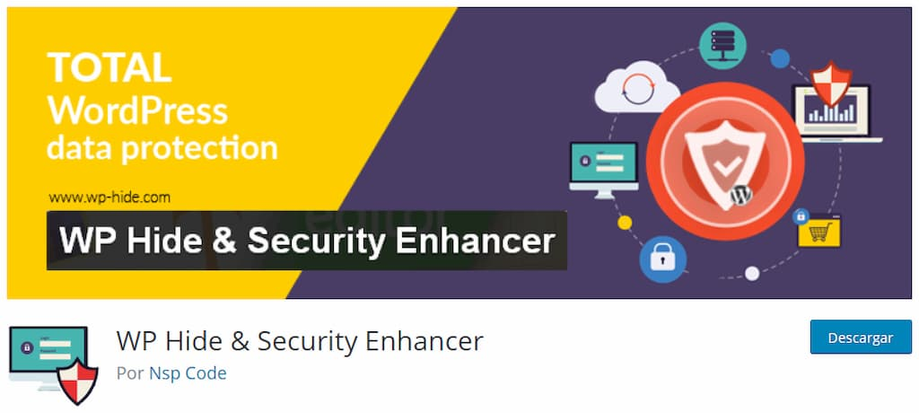 WP Hide & Security Enhancer - guia mantenimiento wordpress