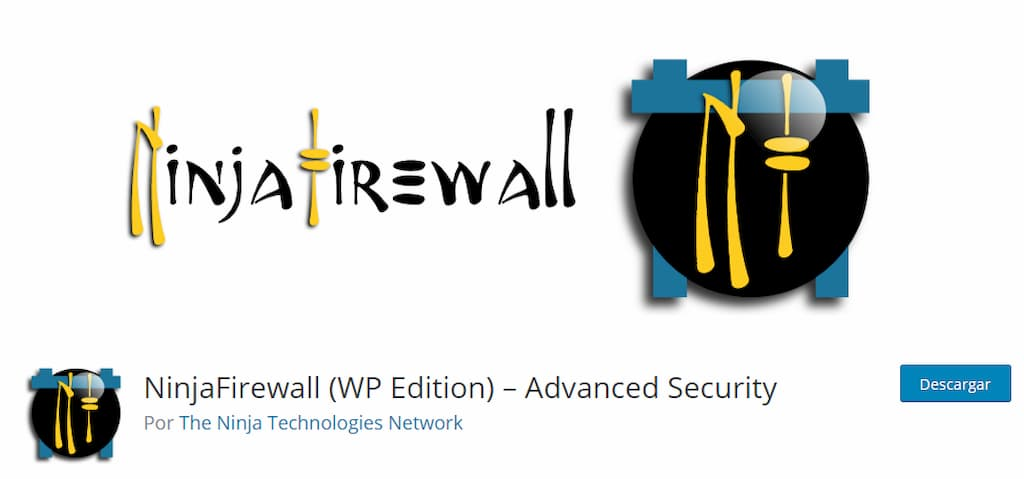 NinjaFirewall - guía mantenimiento web