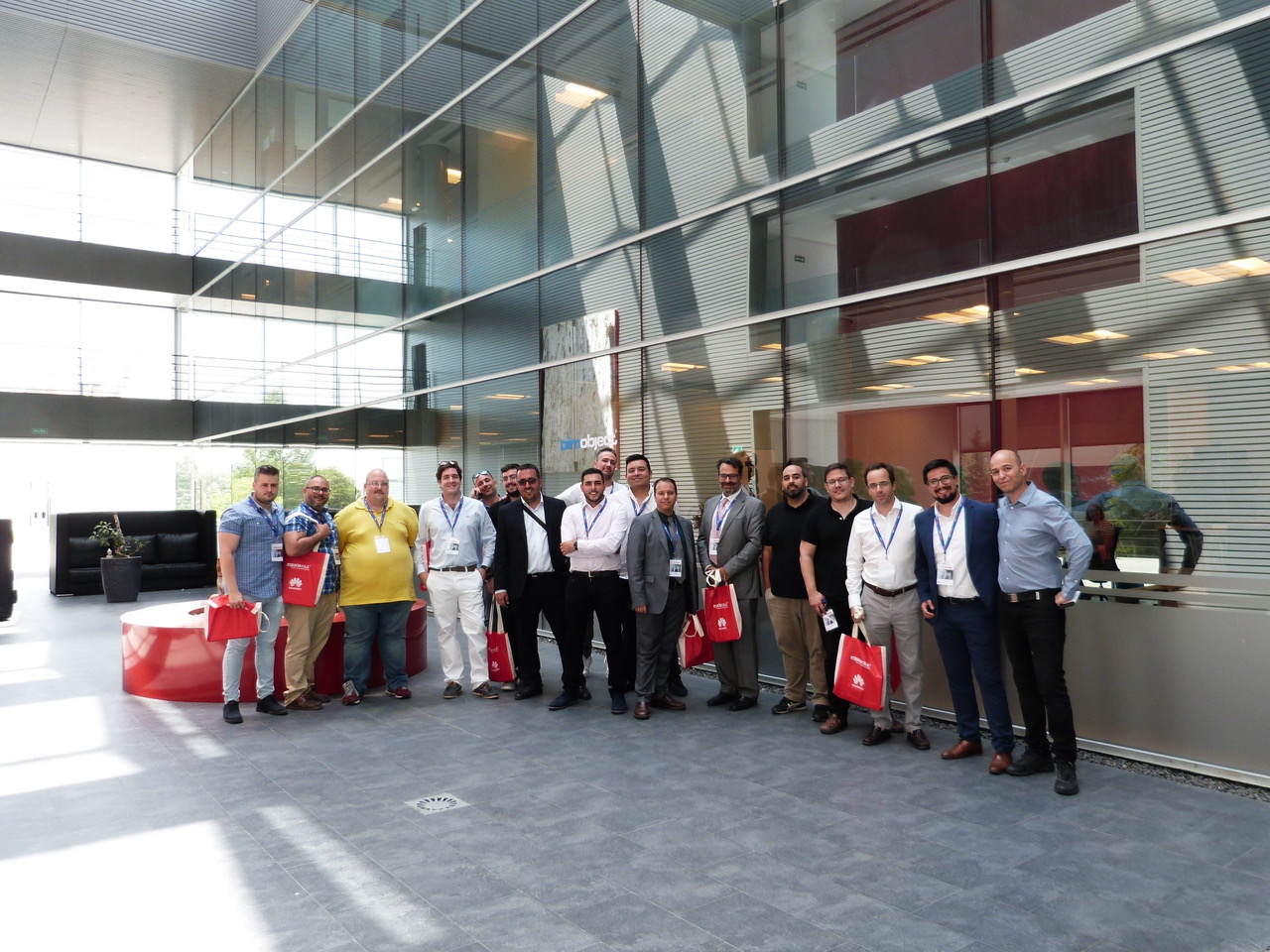 Foto de grupo Formación de seguridad en certificados electrónicos