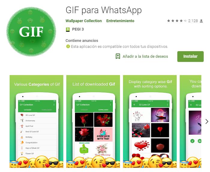GIF para WhatsApp