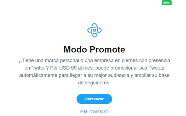 Tutorial de Twitter Promote Mode, Tutorial de Twitter Promote Mode, el nuevo formato publicitario de Twitter
