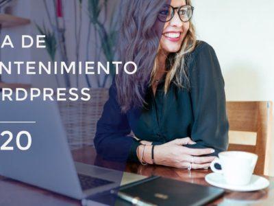 Guía de mantenimiento de WordPress 2020 – [SÚPER COMPLETA]