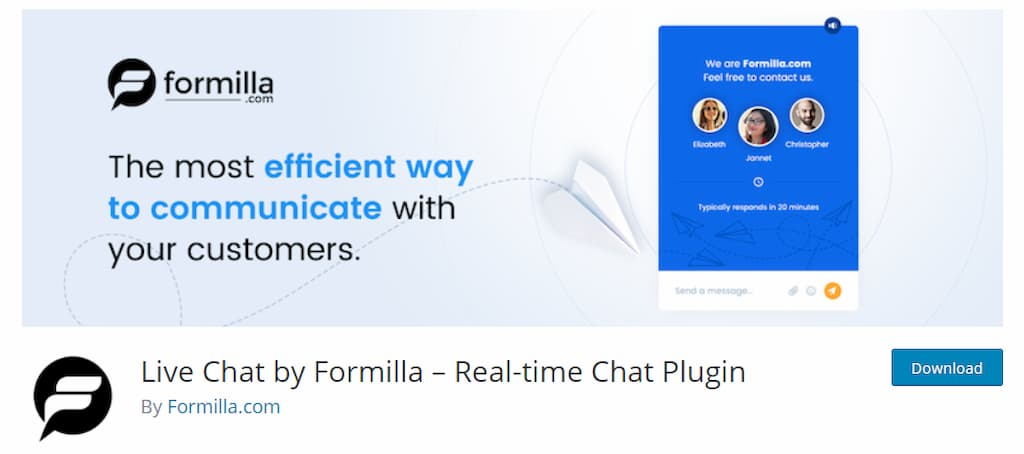 Live Chat by Formilla