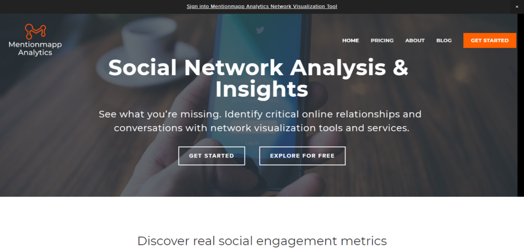 Mentionmapp Analytics I Social Network Analysis