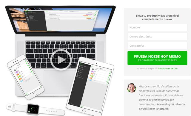 Nozbe, una app para mejorar tu productividad personal