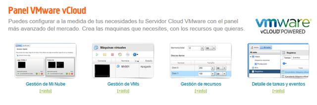 Nuevo panel de gestión VMware vCloud