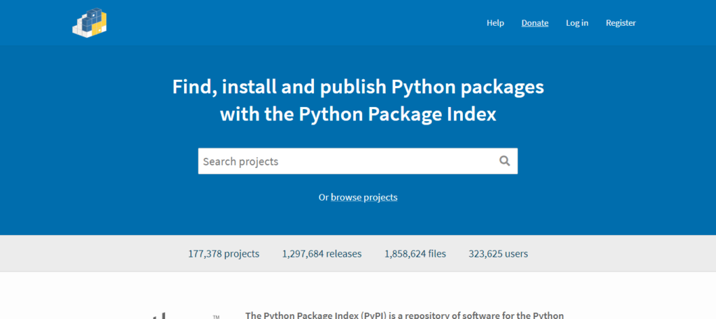 PyPI – the Python Package Index