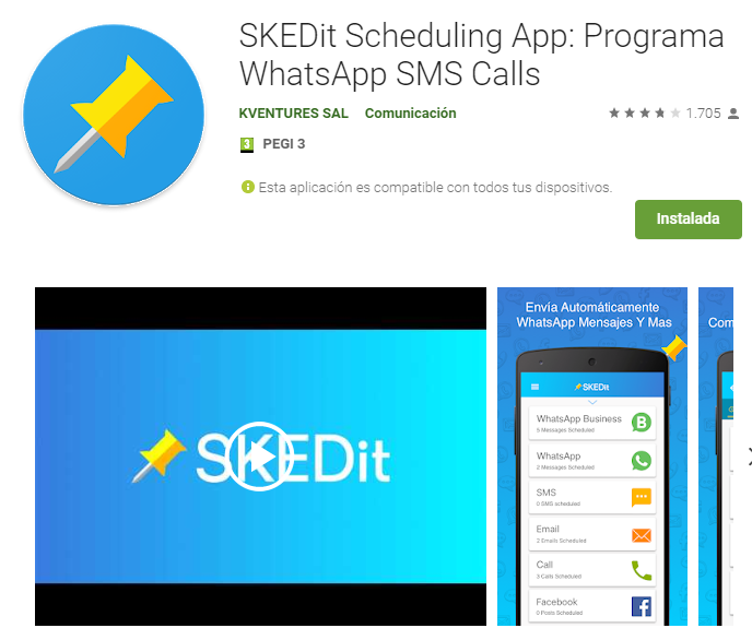 SKEDit Scheduling App