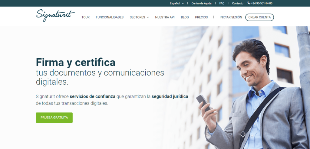 Signaturit - Firma electrónica y servicios de confianza en la UE