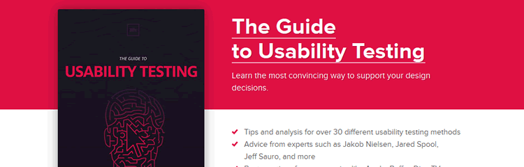 The Guide to Usability Testing (PDF)