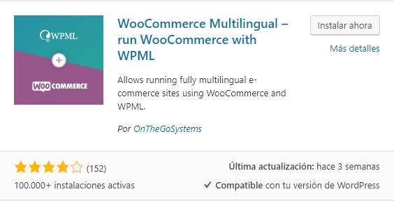 WPML plugin traducción wordPress