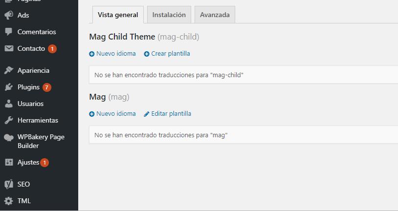 traducir web en WordPress con Loco Translate, Cómo traducir Plantillas y Plugins de WordPress fácilmente con LocoTranslate