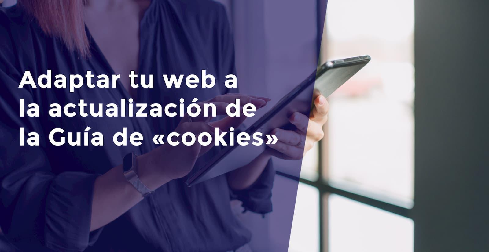 adaptar la web a la actualización de la Guía de «cookies»