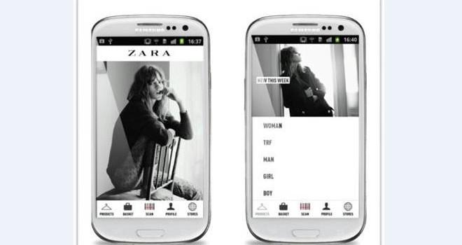 app de zara