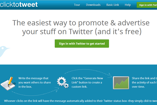 click to tweet