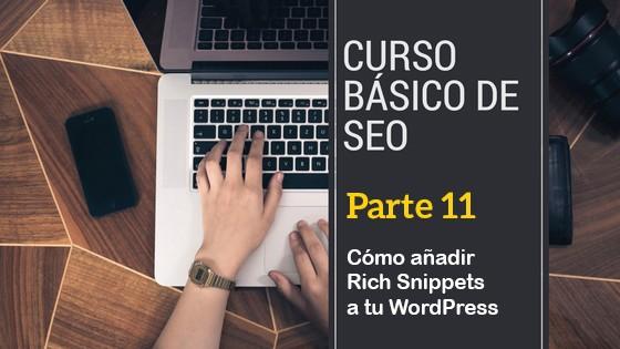 curso seo_Cómo añadir Rich Snippets a tu WordPress