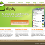 Digsby: Mensajería instantánea unificada