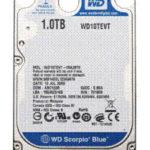 WD Scorpio Blue, portátiles a 1 Tbyte