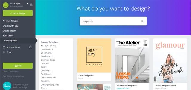 diseñar ebook con canva