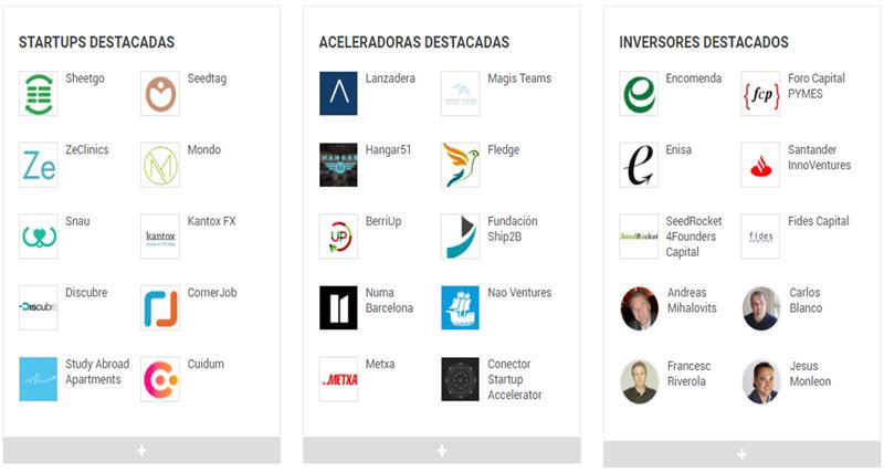 ACTUALIDAD ECOSISTEMA STARTUP ESPAÑA (21/08/2017) Fuente: https://startupxplore.com