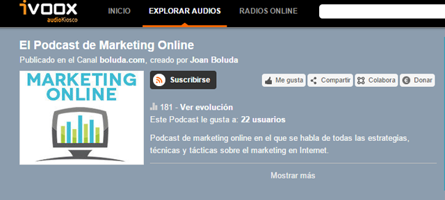 el canal del marketing online