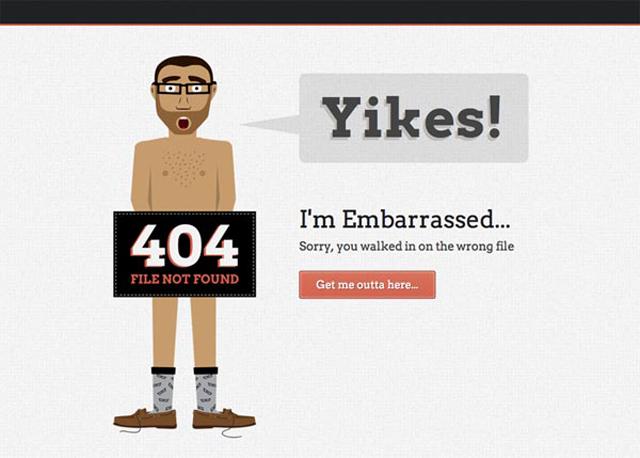 error 404 Fuente. blog.karachicorner.com